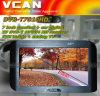 7 de Monitor van de duim + Binnenkant van de Ontvanger MPEG4 HD PVR van TV dvb-t van de Auto de Digitale + Analoge TV (dvb-7010HD)