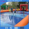 Partite di football americano gonfiabili dell'acqua del campo di calcio dell'acqua del sapone di divertimento per i capretti