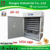 Retenant l'incubateur automatique d'oeufs de poulet de 1000 oeufs (KP-10)