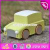 Mini carros de madeira por atacado do brinquedo para carros de madeira contínuos do brinquedo dos miúdos para carros de madeira engraçados do brinquedo dos miúdos para os miúdos W04A330