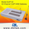 Remote SIM (GoIP32)를 가진 32의 포트 GSM Wireless Terminal