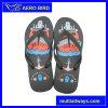 PVC Vente chaude sandale avec l'impression couleur
