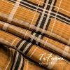 Polyester-Plaid-Drucken-Chiffon- Gewebe 100% für Sommer-Kleid