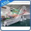 Incanus/diapositiva inflable del yate del color gris, diapositiva de agua inflable para el yate/el barco/la nave