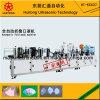 Faltender Typ hohe Filtration-Staub-Gesichtsmasken mit dem Ventil, das Maschine herstellt