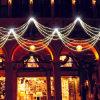 Lumière décorative de rideau en chaîne de caractères de club de festival de DEL