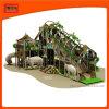 El tema de la selva Jungle Gym atracción popular patio interior del tubo de plástico para la venta de diapositivas