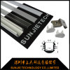 Het opgeschorte Opgezette Profiel van het LEIDENE Lineaire Lichte Ronde LEIDENE Aluminium