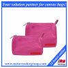 ピンクのナイロンは袋に装飾的な袋セットを構成する