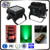 El precio de fábrica 12*15W impermeabiliza la luz de la IGUALDAD, la energía de batería impermeable ULTRAVIOLETA de la luz IP65 de la IGUALDAD de RGBWA y la luz teledirigida sin hilos de la IGUALDAD IP65 de DMX y del IR