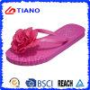 Sumer Ladies Flip Flops с Flower (TNK10020)