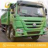 Buen precio 8X4 12los neumáticos de Camión Volquete HOWO en buenas condiciones de trabajo 375CV