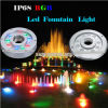 Indicatore luminoso subacqueo di RoHS RGB 3in1 LED del Ce, indicatore luminoso della fontana del LED per il raggruppamento, stagno