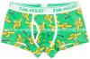 Nouvelle conception d'impression coton Boxer sous-vêtements pour hommes avec permis Eco