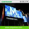 Chipshow P16 RGB LED a todo color que hace publicidad de la exhibición