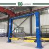 Marque de Gg 3.5-5 tonnes de double de cylindre d'espace libre poste hydraulique de l'étage deux de véhicule de levage automatique de véhicule