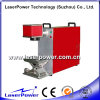 Máquina portable de la marca del laser de la fibra del precio competitivo 30W para Rod