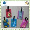 Modifica di gomma molle di plastica personalizzata dei bagagli del cuoio del silicone del PVC (JP-LT007)