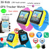 La pantalla táctil 3G WCDMA WiFi GPS Tracker Watch (D18)