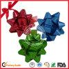 Горячая продажа голографической плоский лук для рождественских подарков