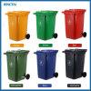 De bevindende Openlucht Plastic Duurzame Vuilnisbakken van de Bak van het Afval van het Pedaal 240L