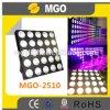 alta LED LED iluminación multicolora brillante de la matriz de 25*10W LED