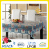 PVC Printed Transparent Tablecloth para Home/Party/Banquet/Picnic/Coffee Table Decor.
