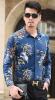 Camicia hawaiana stampata abitudine per gli uomini