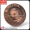 Moneta di rame antica personalizzata del metallo 3D con il marchio
