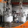 máquina reducida presión eléctrica del concentrado del vacío del zumo de fruta de la calefacción 200L para la goma de tomate