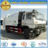 10 ruedas de Dongfeng 4X2 6 de los metros cúbicos 10 toneladas de compresa de la basura y carro del transporte