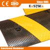 Negro y amarillo de goma 6 pies de velocidad de rampa