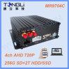3G/4CH /WiFi Ahd GPS aufspürendes bewegliches DVR mit freier APP und Cms