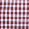 格子縞のヤーンによって染められる綿織物を点検しなさい