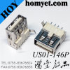 Support extérieur 2.0 USB de SMT un type connecteur femelle