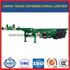 40 Feet Skeletal Chassis Truck Trailer card Tri-Axles Container Trailer card one Salts