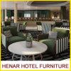 Fauteuils en bois de luxe de tissu de bâti de type européen pour l'hôtel