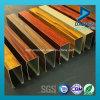 Anodisiertes Vierecks-Quadrat-Gefäß-Aluminiumstrangpresßling-Profil mit angepasst sortiert