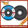 5 '' disques abrasifs d'aileron d'oxyde de calcination (couverture 26*16mm de fibre de verre)