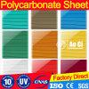 Preço protegido UV da folha do PC do preço da folha de Sun do preço da folha do policarbonato de 4mm-16mm Lexan