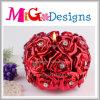 現代デザイン花の整形茶Llightの結婚式の好意の蝋燭ホールダー