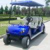 4kwモーター鋼鉄シャーシ4のシートのゴルフカート