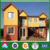 Helles Steel Prefab House Villa mit Wood PVC Cladding Decoration (XGZ-PHW048)