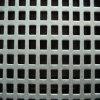 正方形の熱い鋼鉄穴があいた金属の網
