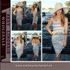 2015 neuester Großhandelsfrauen-Streifenbeachwear-beiläufige Kleider (TONY6024)