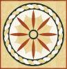 패턴 Polished Porcelain Tile 1200*1200mm