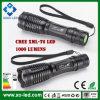 Ultrabright 1000 luz de la antorcha del CREE Xml-T6 Ultrafire Zoomable LED de los lúmenes
