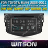 Toyota RAV4 (W2-D8126T)를 위한 GPS를 가진 Witson Car Radio Steering Wheel Control Front DVR Capactive Screen