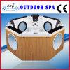 Vasca da bagno esterna sexy di massaggio della STAZIONE TERMALE, una vasca da bagno dei 3 cuscini (AT-9003)