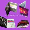 Cartão de visitas de vídeo em papel A5, Acabamento brilhante